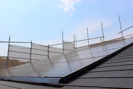 Solar power generation of new housing