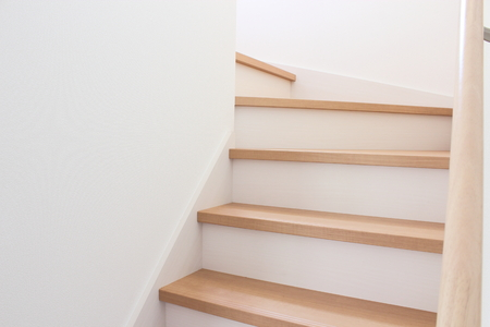 Stairs of new housing