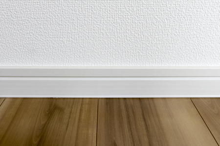Wall and flooring of newly built housing 写真素材 - 97841887