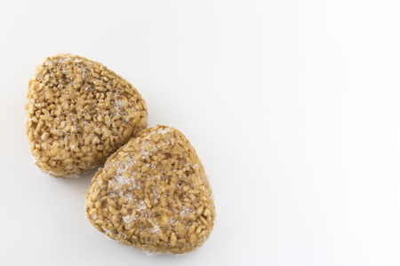 Frozen grilled rice ball
