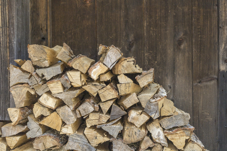 Firewood background material