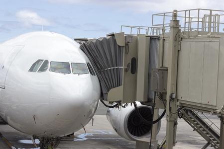 Boarding an aircraft