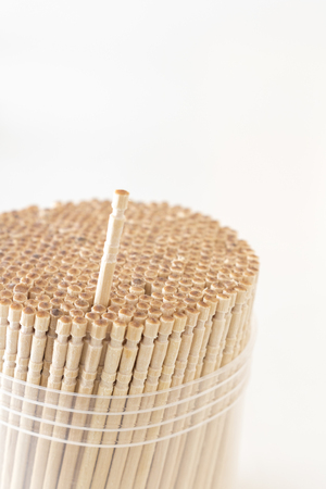 A lot of toothpicks