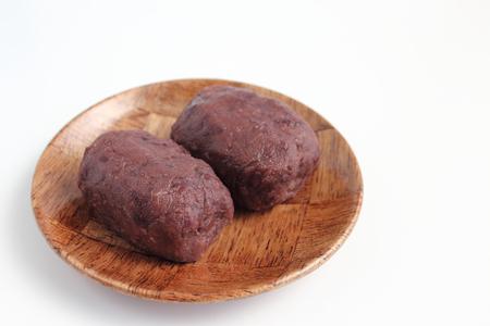 adzuki bean mochi Imagens