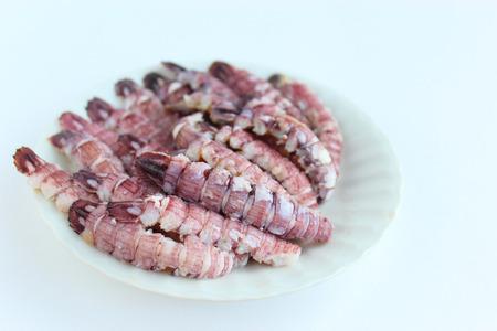 The body of boiled mantis crab Archivio Fotografico