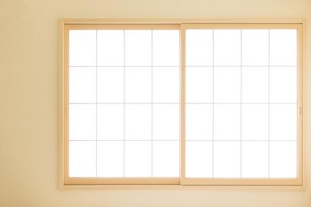 Japanese Paper Shoji Sliding Door Stock Photo   104347479