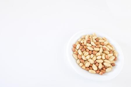A lot of peanut beans