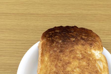 Burnt Plain bread Stok Fotoğraf