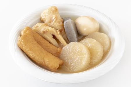 Fish cake and vegetable stew Reklamní fotografie