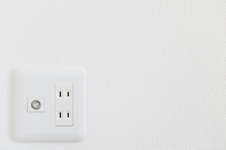 Electric outlet and TV outlet