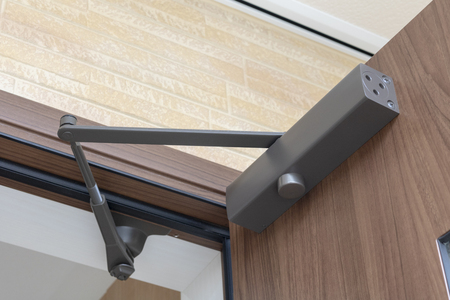 Door closer for entrance door