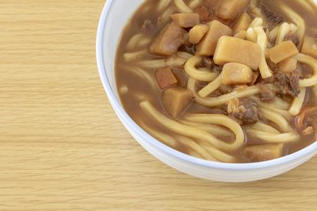Curry taste udon