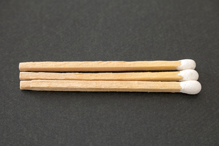 Close up of the matchstick