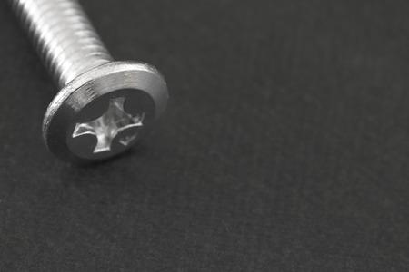 Close up of screw