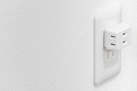 Outlet connected with triple tap