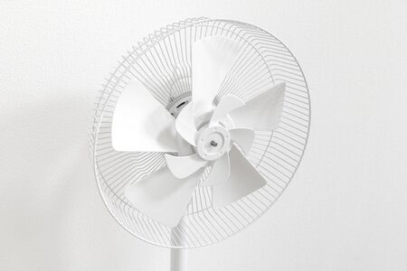 Fan in the middle of disassembly