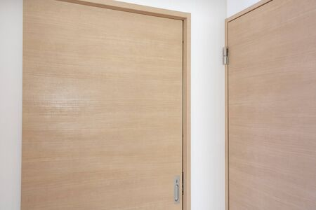 Two doors inside the new house