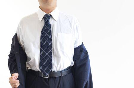 Men who change into a suit Imagens