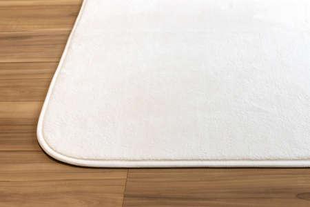 Photo of flooring and white carpet Stock fotó