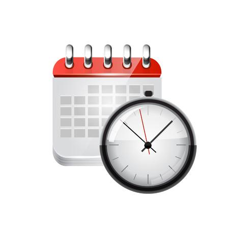 Web calendar. Ilustração