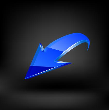 blue arrow: Blue arrow