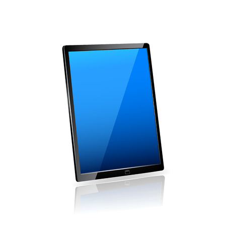 tablet computer Stock Illustratie