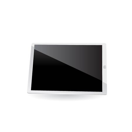 computer tablet: Vector tablet PC Vectores