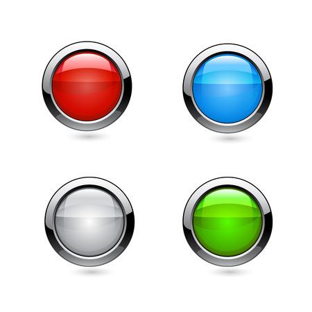 Vector buttons Vector