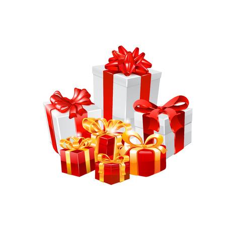 Gift boxes. Ilustração