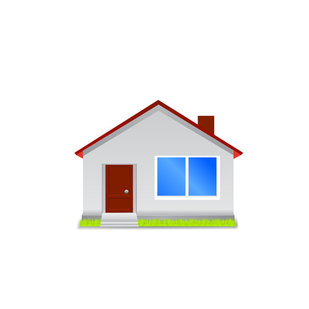 majority: House icon isolated  Vector