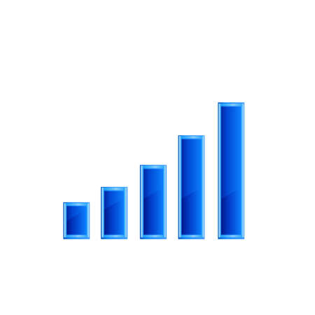 stat: Financial graph stat business background vector 10 eps.