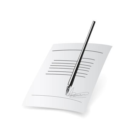 pacto: Icono de contracción. Ilustración vectorial sobre fondo blanco