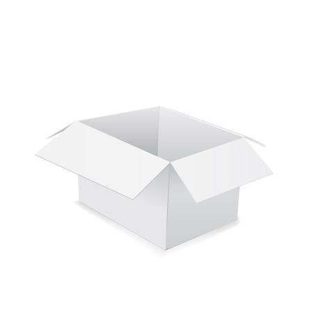 package sending: Box. Vector illustration on white background 10 eps. Illustration