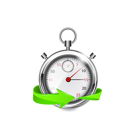 metering: Fast delivery icon. Vector illustration on white background