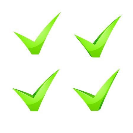 proceed: green checkmark icon set on white background.