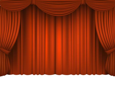 classical theater: Red Draped Theater.