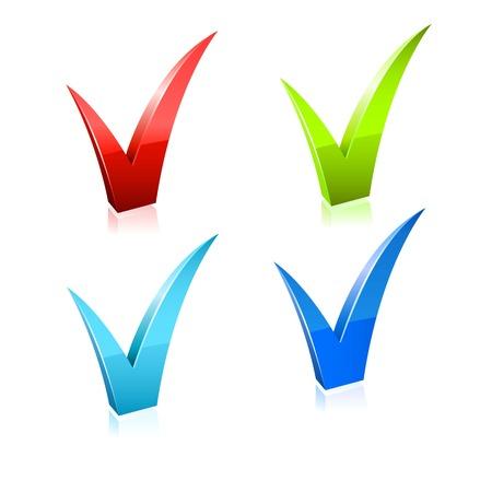 Vector icon checkmark.