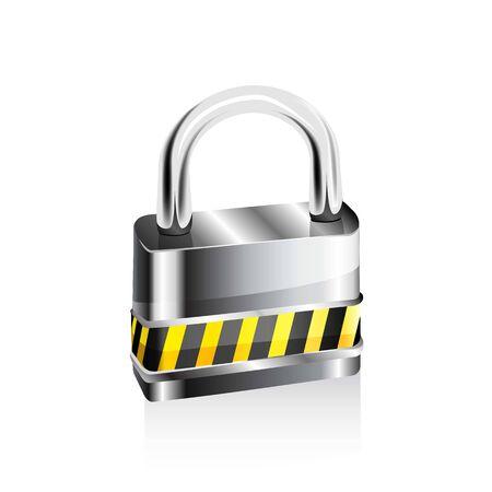 Lock icon. Ilustração