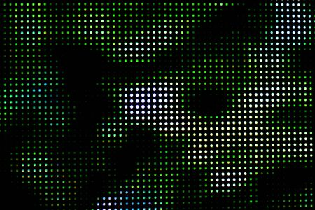 emitting: Colorful of the LED screen at the opening of the show.