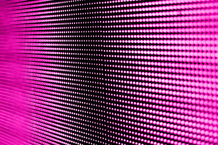 led display: Background pink screen technology LED modern and beautiful. Stock Photo