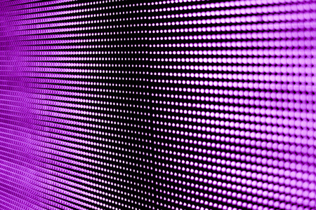 led display: Background purple screen technology LED modern and beautiful. Stock Photo