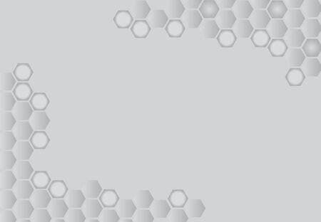 Modèle vectoriel de la technologie future sur fond noir et blanc. Banque d'images - 83375717