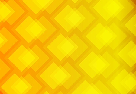 Yellow abstract background vector art of overlap of colorful squares. Illustration