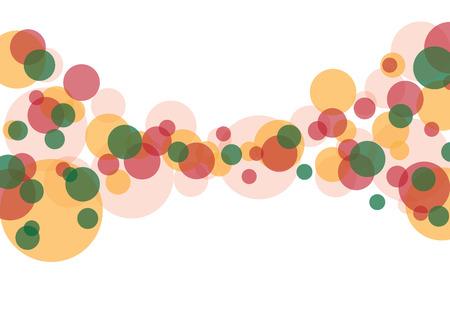 Illustration d'arrière-plan blanc d'illustration de bulles colorées et bokeh. Banque d'images - 83382708