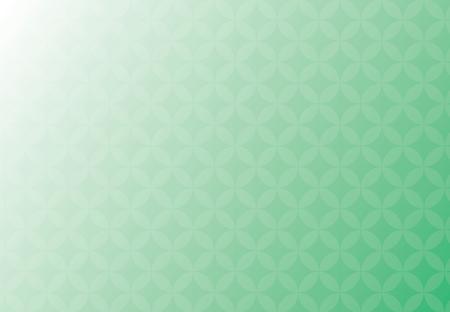 Résumé , vecteur , fond vert et blanc entreprise de chevauchement des cercles de soleil Banque d'images - 83390053