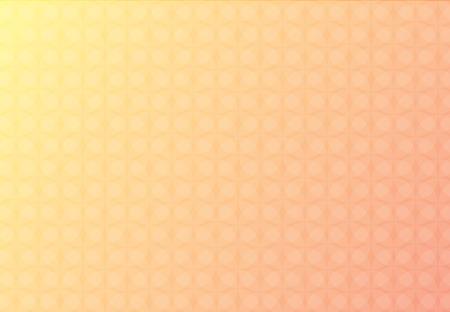 Abstrait arrière-plan vecteur jaune et rouge des cercles de chevauchement magnifique. Banque d'images - 83389809