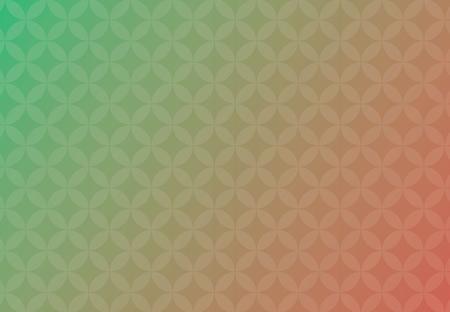 Résumé , vecteur , fond vert et rouge entreprise de chevauchement des cercles de soleil Banque d'images - 83389818