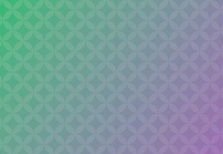 Affaires de fond abstrait vector vert et violet des cercles de chevauchement belle. Banque d'images - 83389819