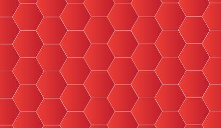 Texture avec un motif se chevauchent dans la technologie rouge. Banque d'images - 83431623