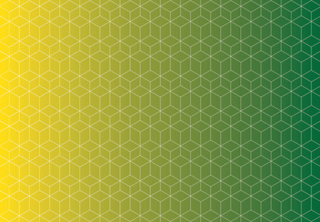 Modèle de fond jaune et vert technologie de modèle de motif sans soudure qui se chevauchent. Banque d'images - 83431638